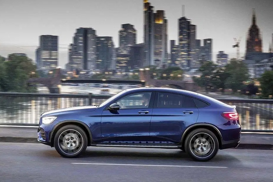 Mercedes-Benz GLC Coupe Side View (Left)