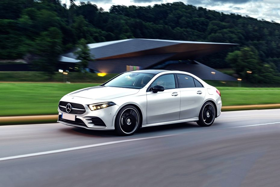 Mercedes-Benz A-Class Sedan Front Left Side Image