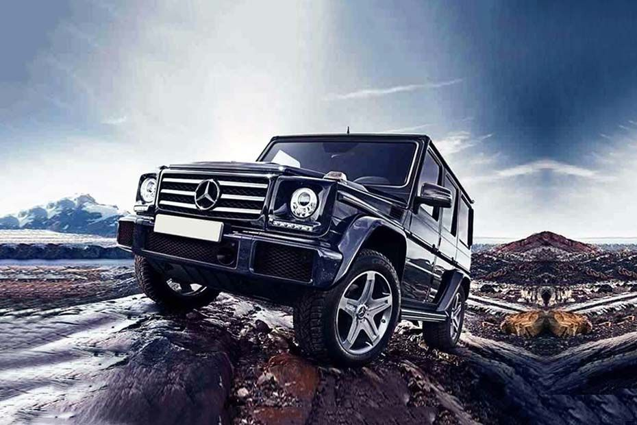 Mercedes-Benz G Class Front Left Side Image
