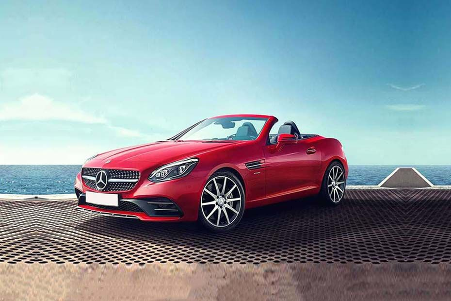Mercedes-Benz SLC Front Left Side Image