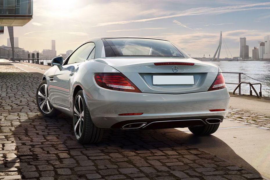 Mercedes-Benz SLC Rear Left View Image