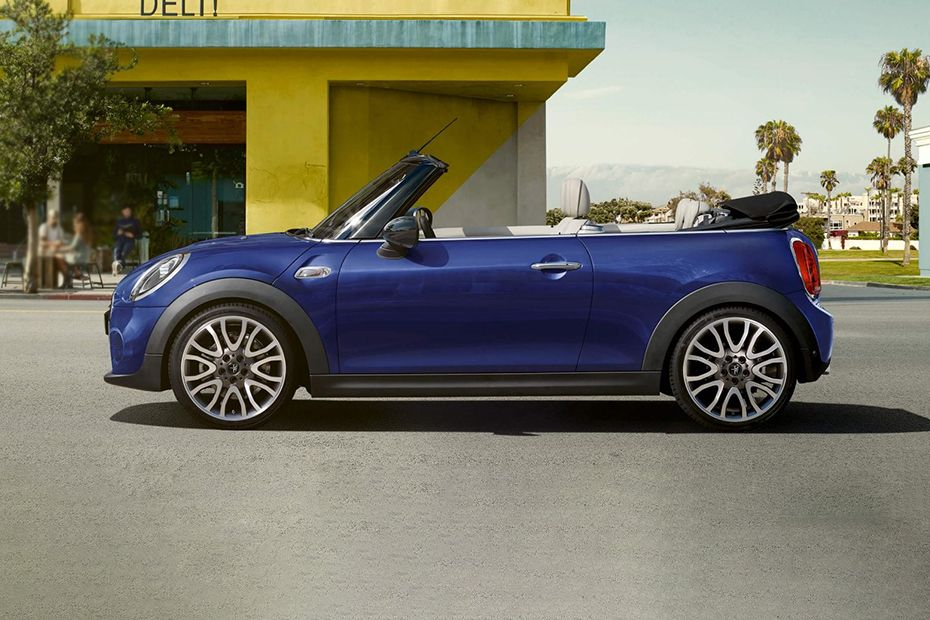 Mini Cooper Convertible Side View (Left)  Image