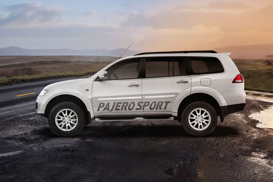 Mitsubishi Pajero Side Body Graphics