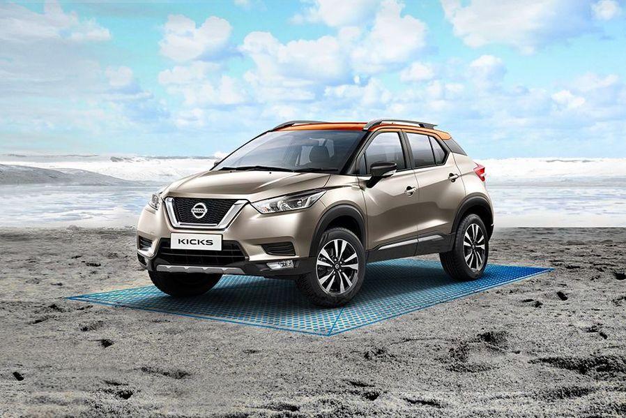 Nissan Kicks Front Three Quarters