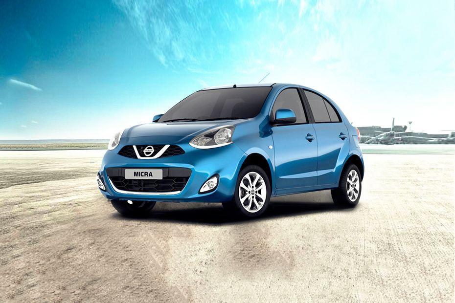 Nissan Micra Front Left Side Image