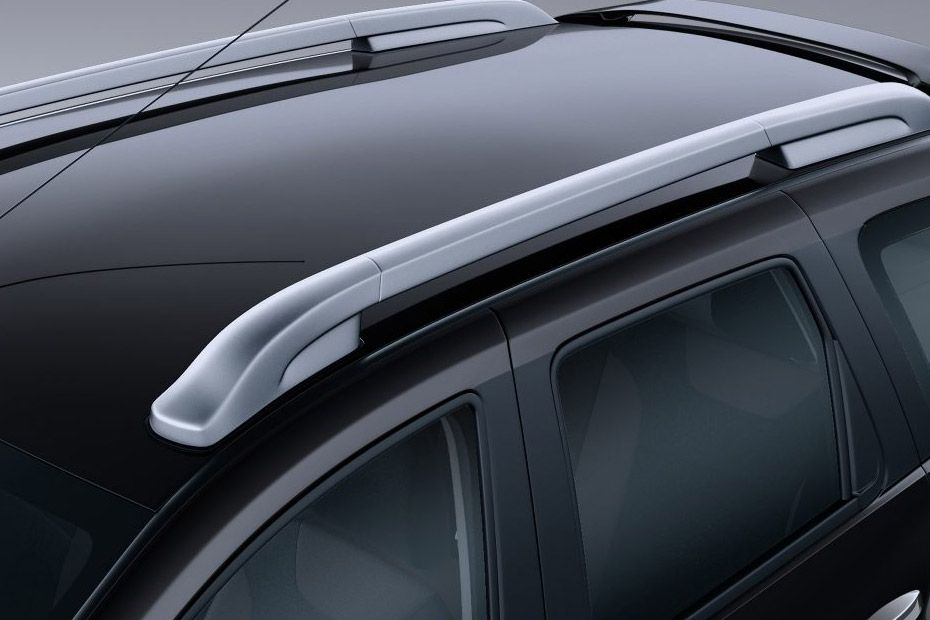 Nissan Terrano Gets Silver Finish Roof Rails In Top Variants