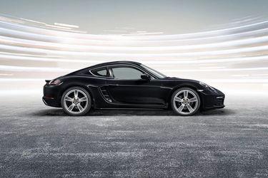 Porsche 718 Side View (Left)