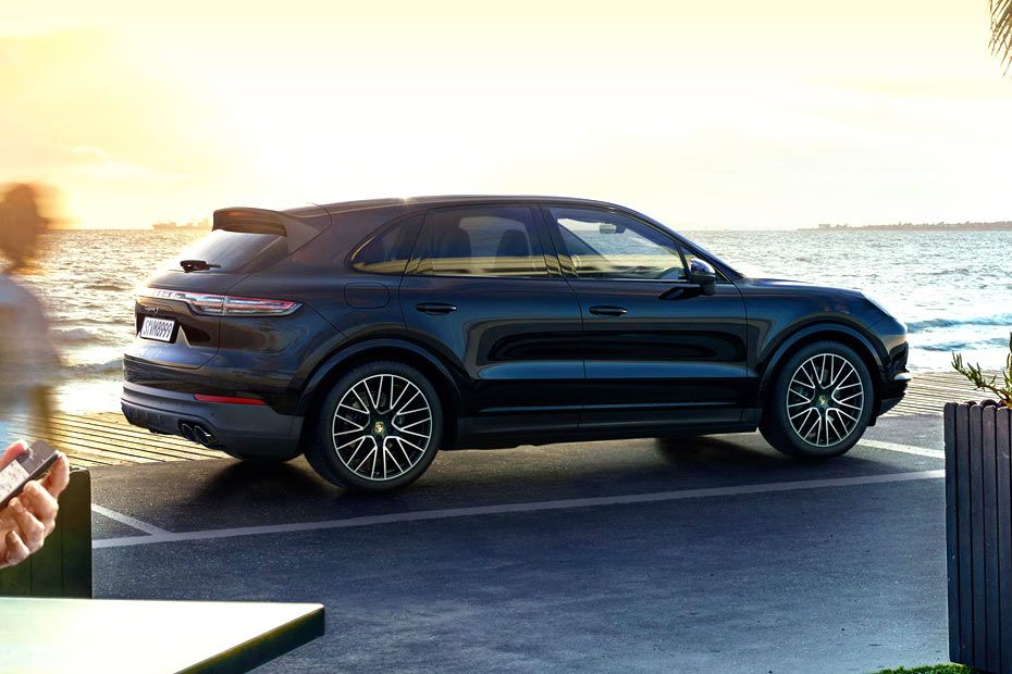 Porsche Cayenne Dimension Spec Sheet