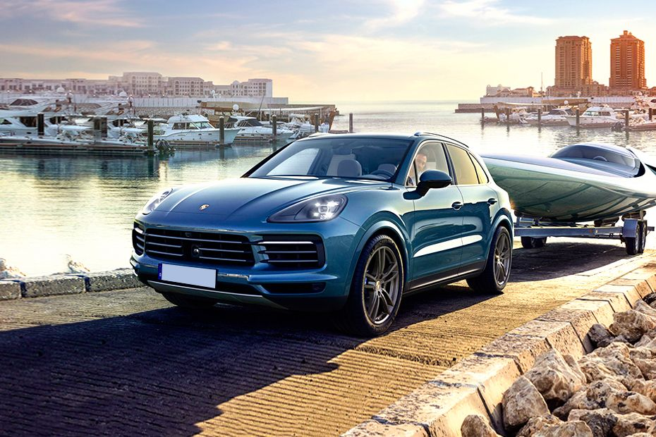 Porsche Cayenne Power Dome Bonnet