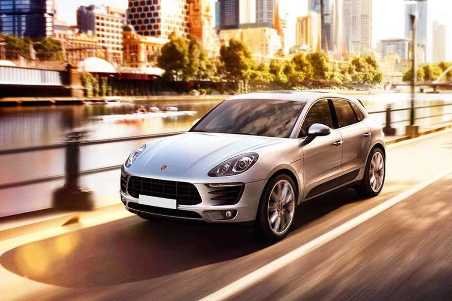 Porsche Macan Front Left Side Image
