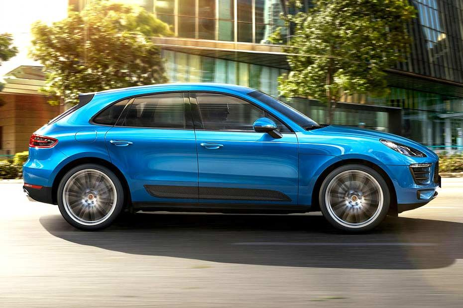 Porsche Macan 2013-2019 Side View (Left)  Image
