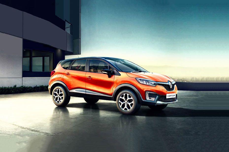 Renault Captur Attractive Front Fascia