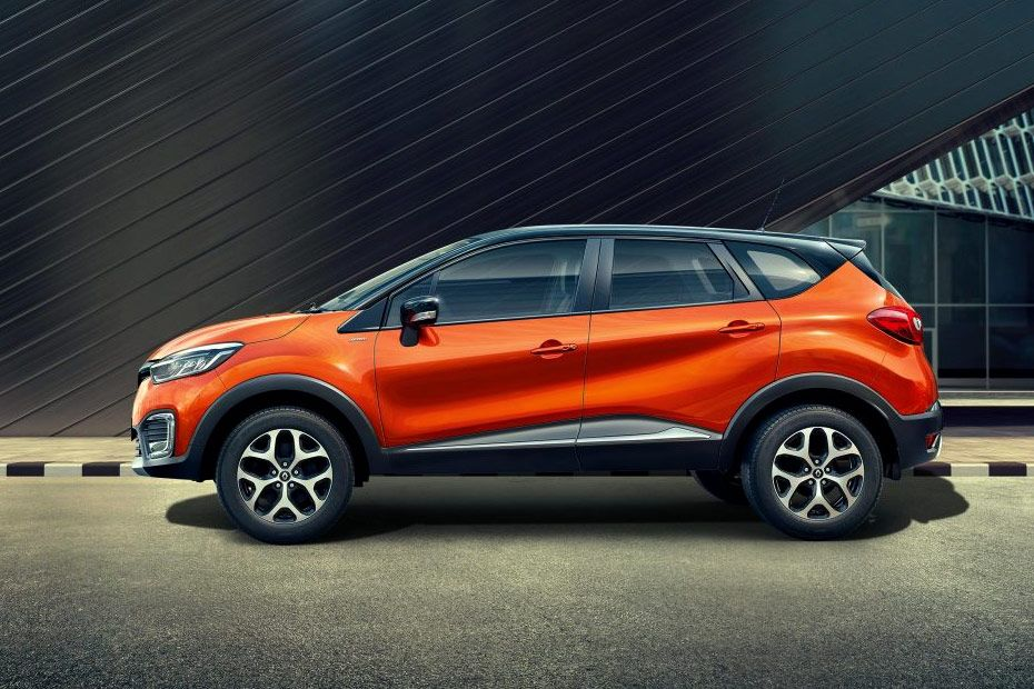 Renault Captur Rugged Side Profile