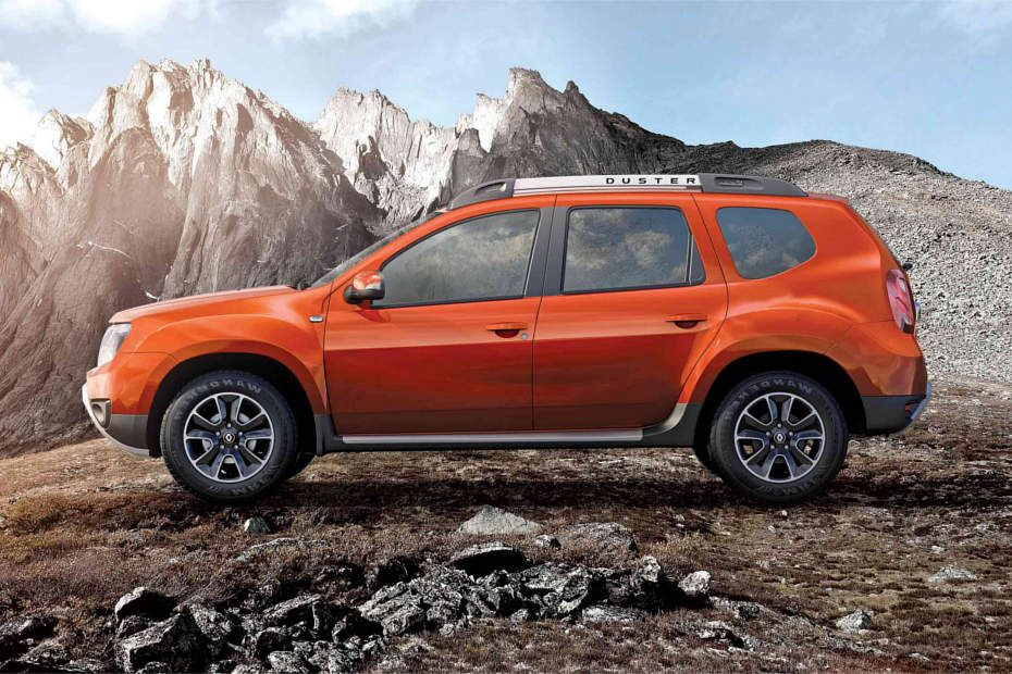 Renault Duster Stylish Side Stance