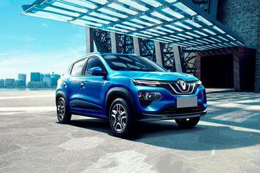 Renault K-ZE Front Left Side Image