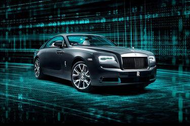 Rolls Royce Wraith Front Left Side
