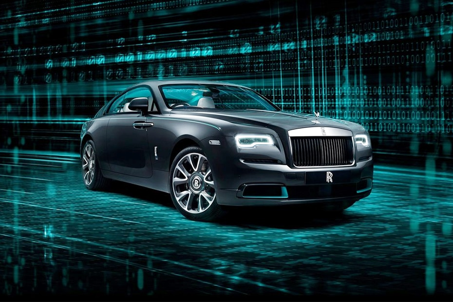 Rolls Royce Wraith Front Left Side