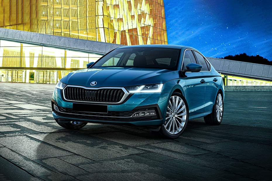 Skoda Octavia 2020 Front Left Side