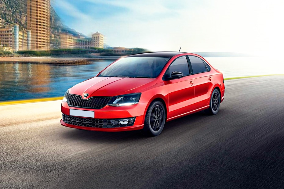 Skoda Rapid Front Left Side