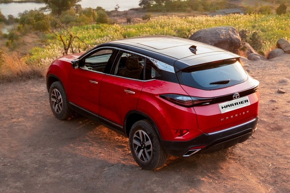 Tata Harrier Rear Left View
