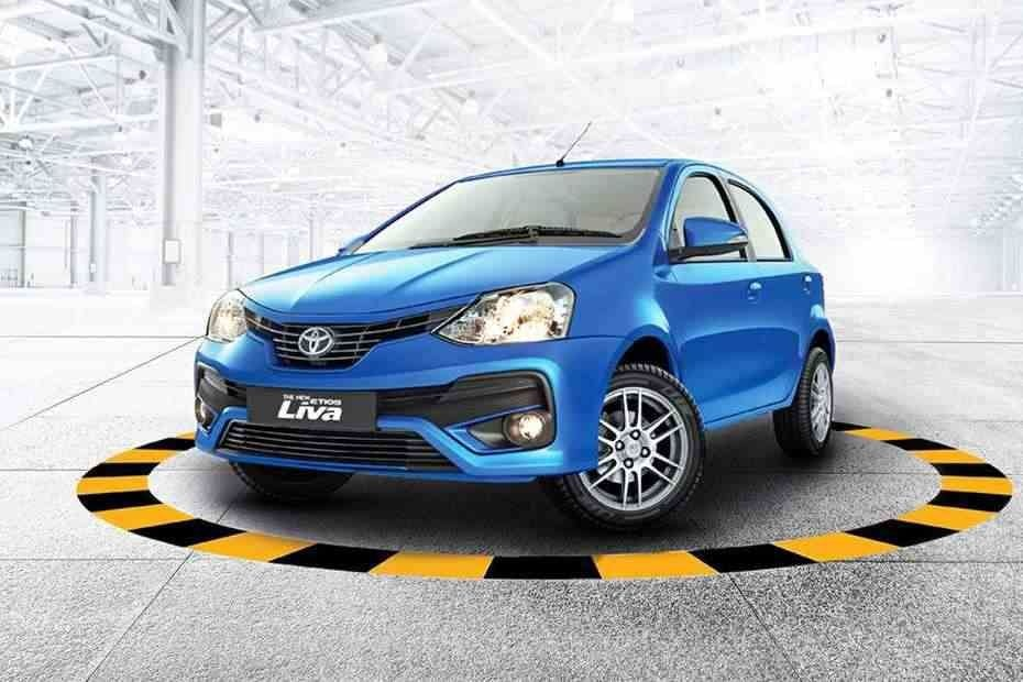 Toyota Etios Liva Front Three Quarters
