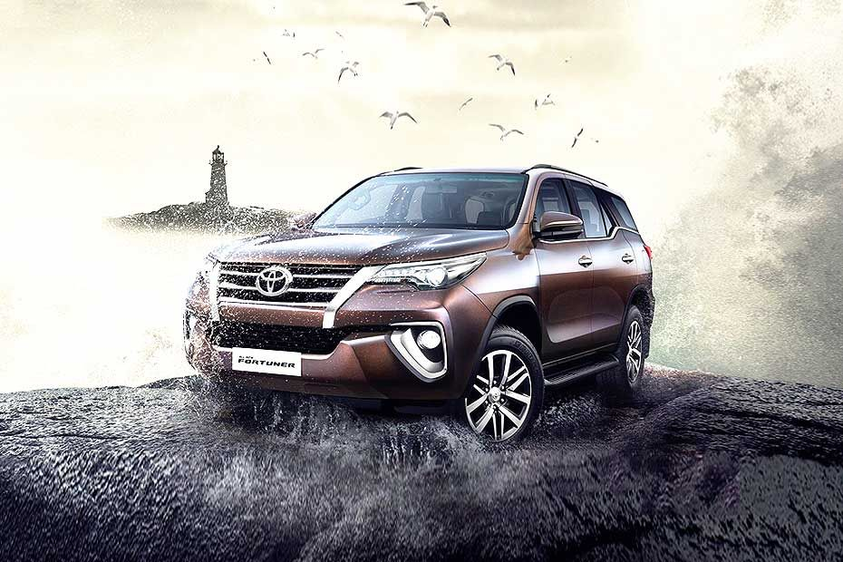 Toyota Fortuner Bold Exterior