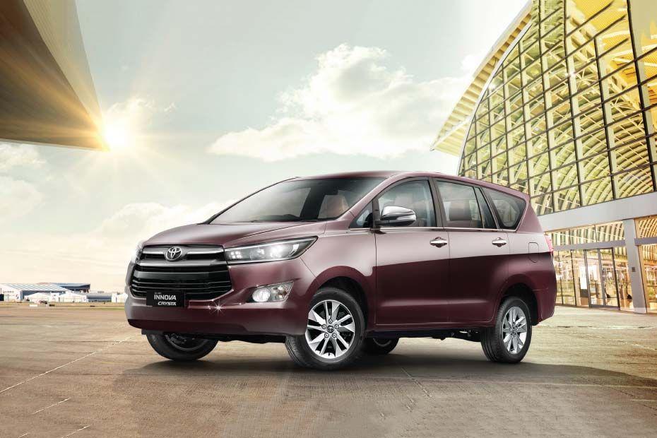 Toyota Innova Crysta Premium Exterior