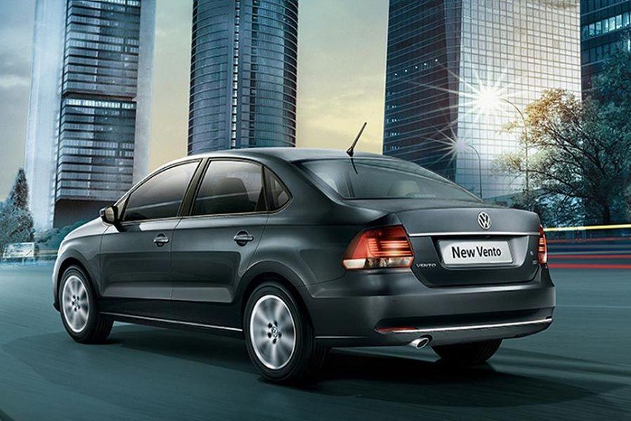 Volkswagen Vento Rear Three Quarters