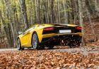 Lamborghini Aventador Rear Left View