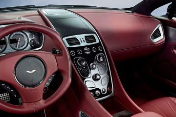 Aston Martin Vanquish DashBoard
