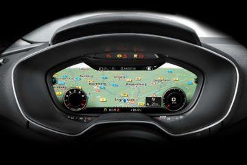 Audi TT Navigation or Infotainment Mid Closeup