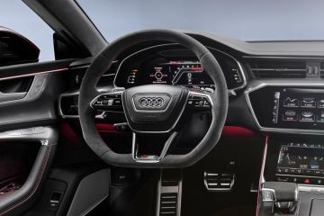 Audi RS7 Steering Wheel