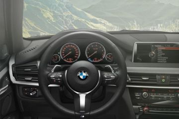 BMW X5 Steering Wheel
