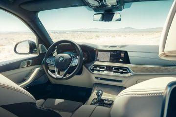 BMW X7 DashBoard