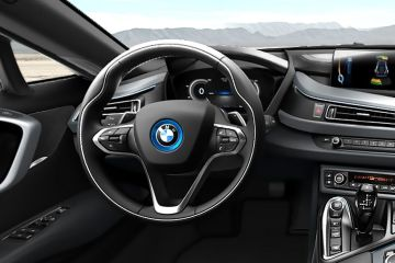 BMW i8 Steering Wheel
