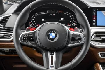 BMW X5 M Steering Wheel