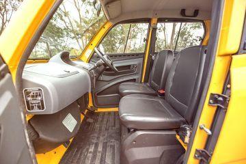 Bajaj Qute (RE60) Front Seats (Passenger View)