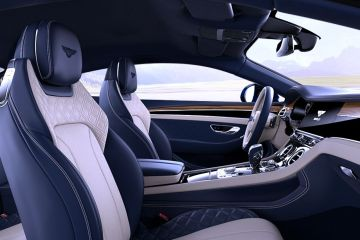 Bentley Continental Front Seats (Passenger View)