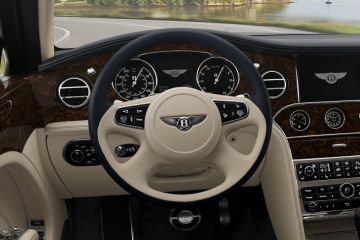 Bentley Mulsanne Steering Wheel