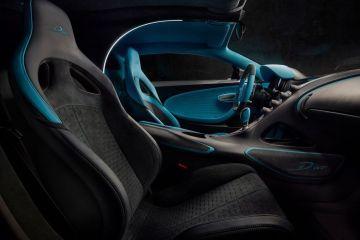 Bugatti Divo Front Seats (Passenger View)