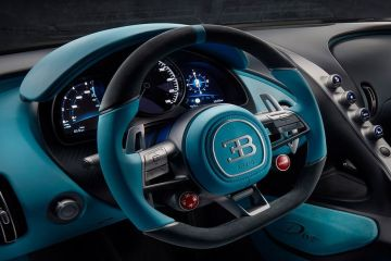 Bugatti Divo Steering Wheel