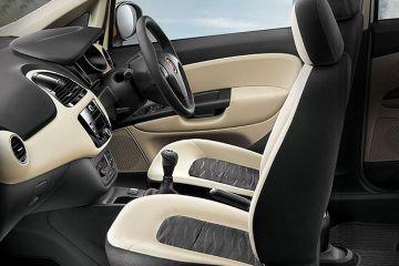 Fiat Punto EVO Front Seats (Passenger View)
