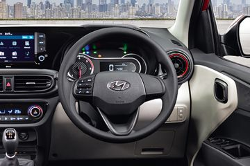 Hyundai Aura Steering Wheel