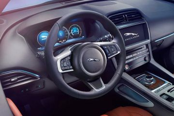 Jaguar F-PACE Steering Wheel