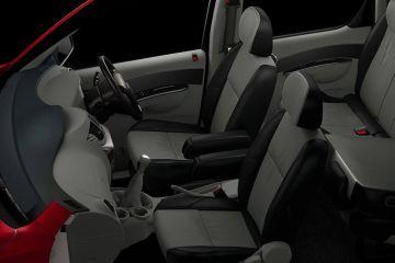 Mahindra NuvoSport Front Seats (Passenger View)