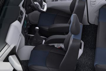 Mahindra Scorpio Front Seats (Passenger View)