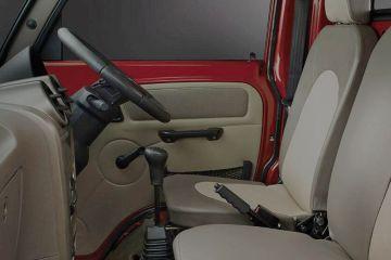 Mahindra Supro Front Seats (Passenger View)
