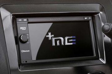 Mahindra e2oPlus Navigation or Infotainment Mid Closeup