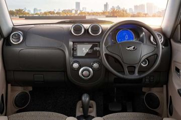 Mahindra e2oPlus Steering Wheel