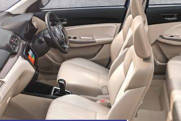 Maruti Dzire Front Seats (Passenger View)